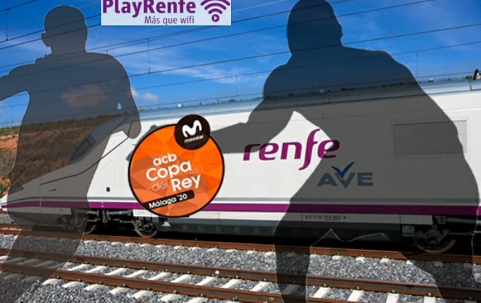 PlayRenfe Ave y Basket